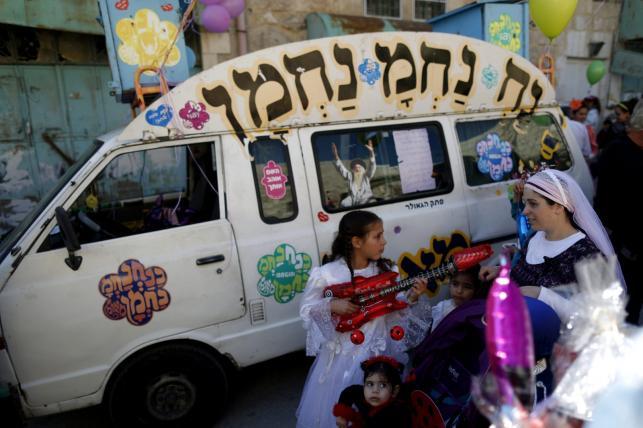 Święto Purim w Izraelu