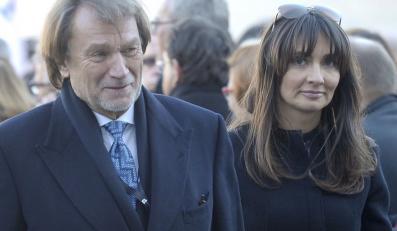 Jan Kulczyk z córką Dominiką