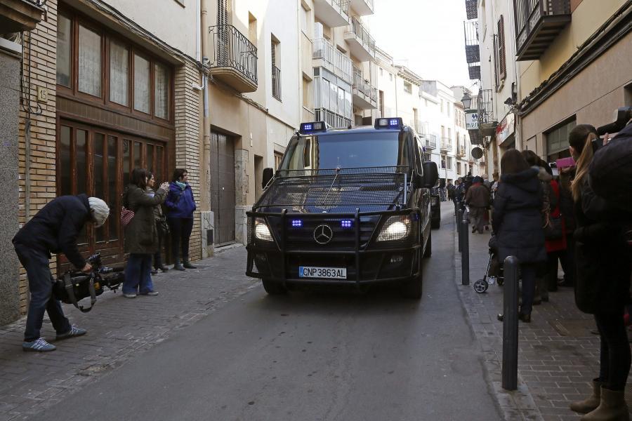 Akcja hiszpańskiej policji