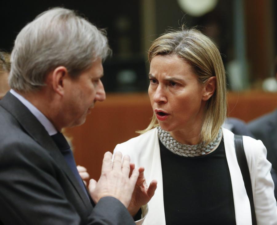 Federica Mogherini i Philip Hammond