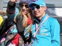 Kamil Stoch na zawody do Planicy zabrał żonę. ZDJĘCIA