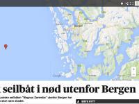 Polski jacht nadał SOS u wybrzeży Norwegii. Ma złamany maszt