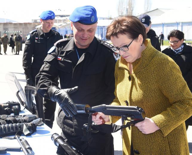 Premier Ewa Kopacz w Kosowie