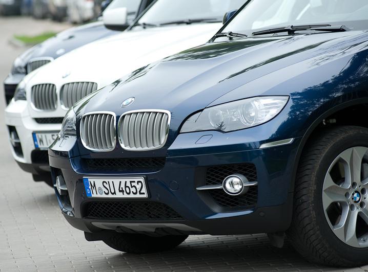 Najmocniejsze BMW przekracza Odrę. Bez dymu