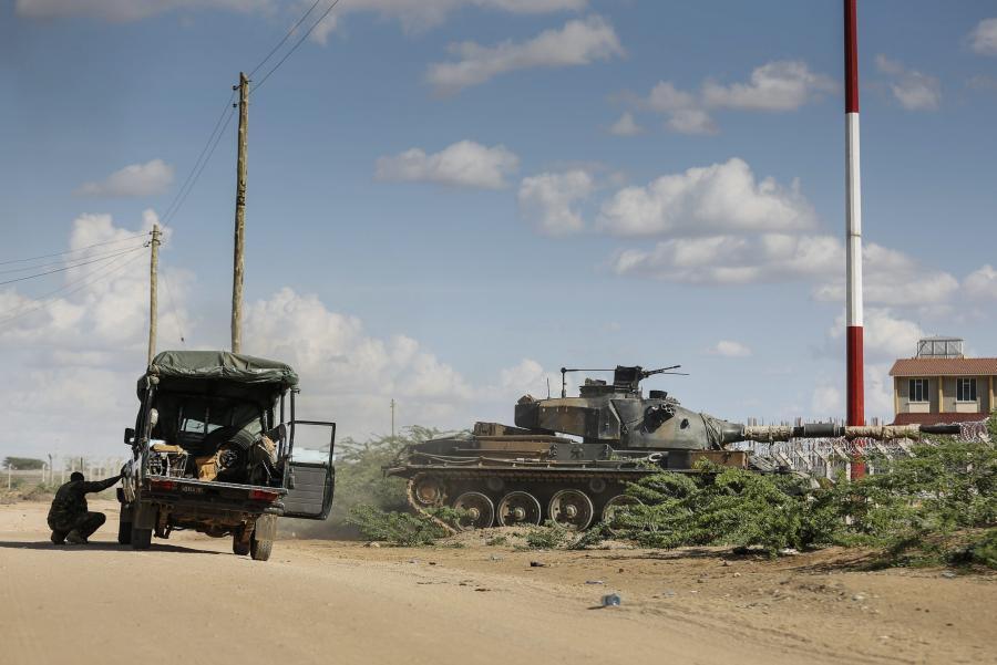 Kenijskie wojsko