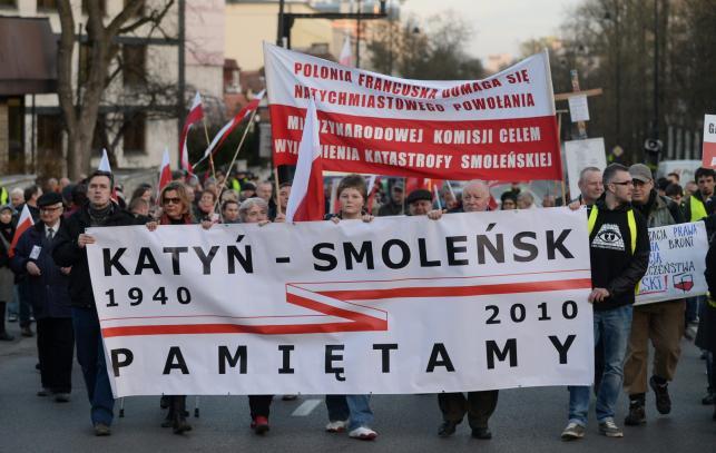 Manifestacja przed ambasadą Rosji