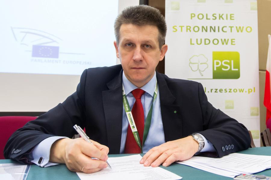 Jan Bury z PSL