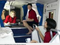 Sekretne sypialnie... Tu odpoczywają stewardesy!