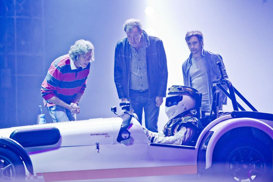 James May, Jeremy Clarkson, Richard Hammond i Stig