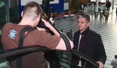 Adam Jarubas przed debatą w TVP1