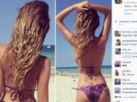 Natalia Siwiec uwodzi w bikini na plaży w Miami. ZDJĘCIA