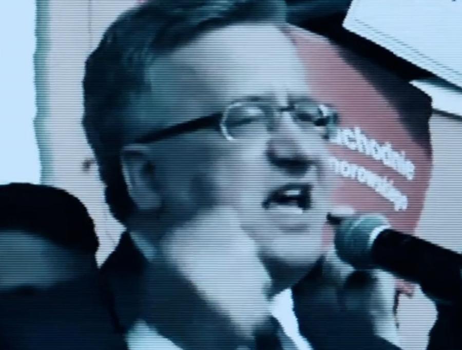 Bronisław Komorowsi w spocie PiS