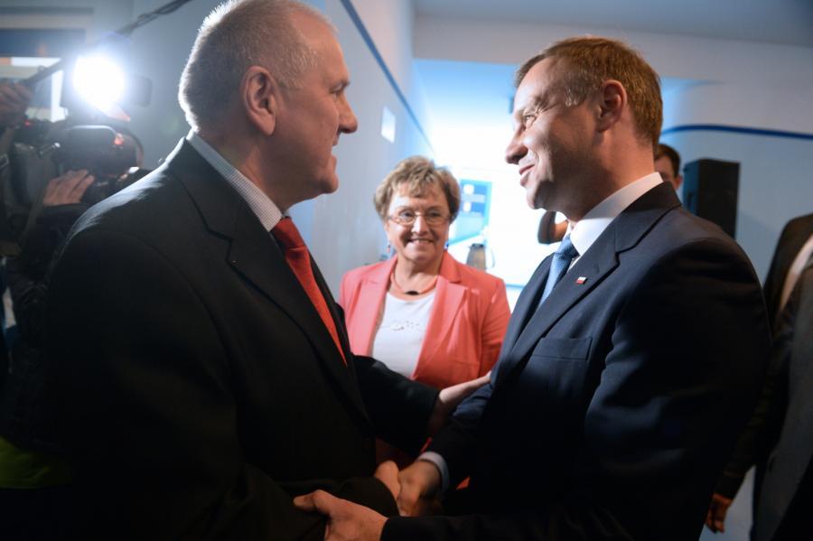 Jan Guz i Andrzej Duda