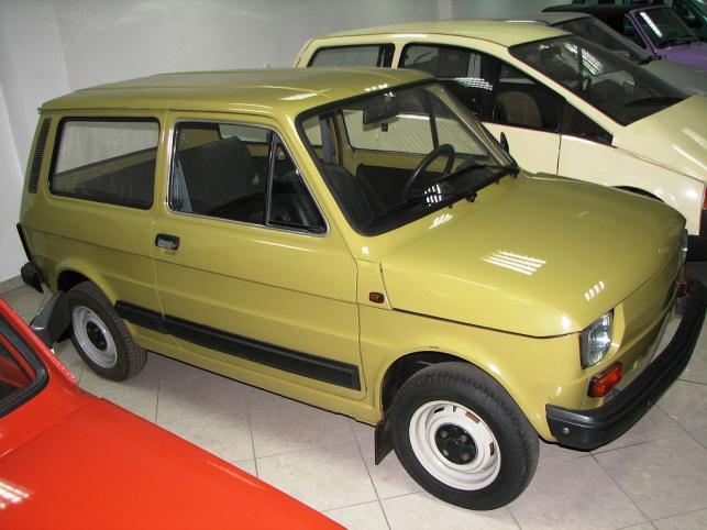 Fiat 126p Combi - ostatni model z 1986 roku