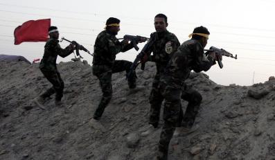 Szyicka milicja z Iraku szkoli się przed walką z terrorystami z ISIS
