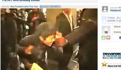 Lindsay Lohan zaatakowana przed klubem