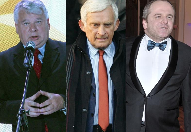 Bogdan Borusewicz, Jerzy Buzek i Paweł Kowal