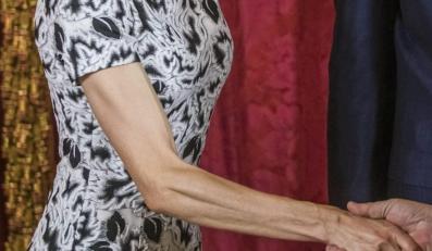 Ręka królowej Letizii