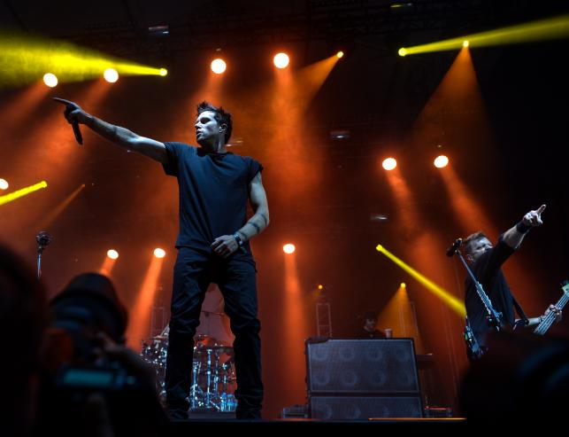 Three Days Grace na Orange Warsaw Festival 2015
