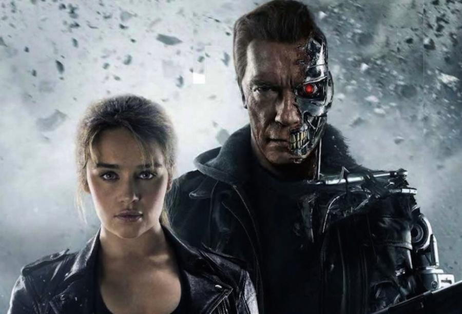 Emilia Clarke i Arnold Schwarzenegger –gwiazdy filmu \