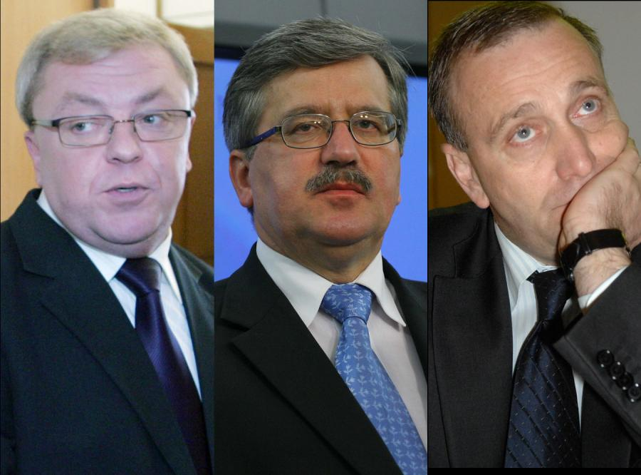 Trzech chętnych do schedy po Tusku