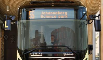 Elektryczny autobus Volvo w Gothenborgu