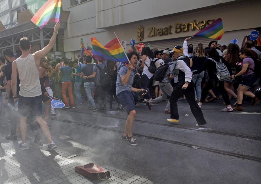 Parada homoseksualistów w Turcji