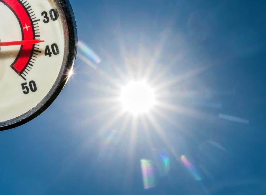Wczorajsza temperatura w Niemczech