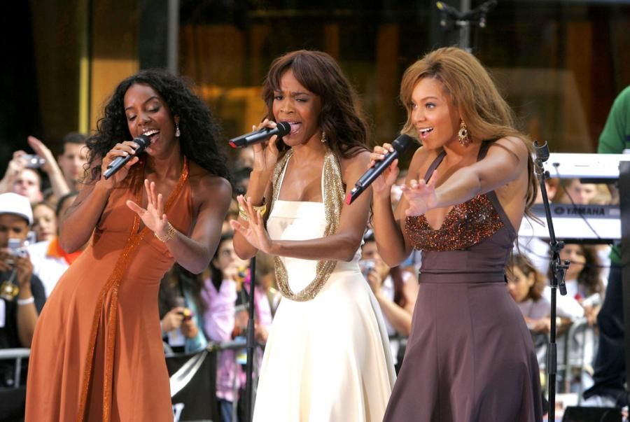 Destiny\'s Child w legendarnym składzie: Kelly Rowland, Michelle Williams i Beyoncé