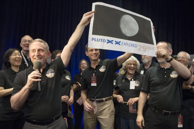 Radość w Amerykańskiej Agencji Kosmicznej NASA