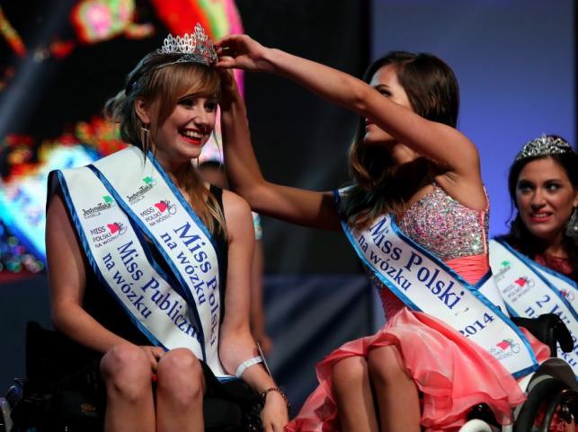 Miss Polski na wózku 2015 Katarzyna Kozioł