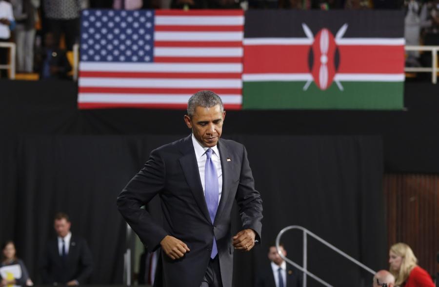 Barack Obama w Kenii