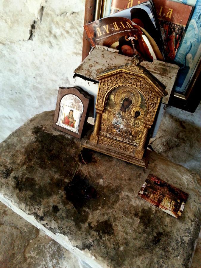 Akrokorynt, Grecja. Kościół św. Dmitrija Obrońcy Twierdzy