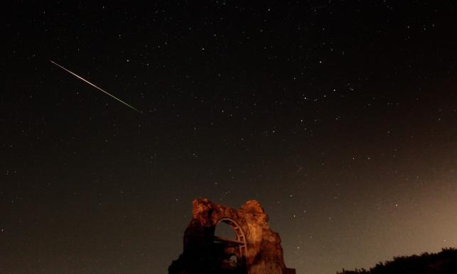 Deszcz meteorytów w Bułgarii