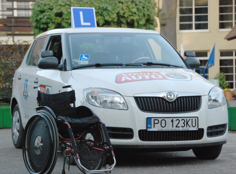 Skoda pomaga niepełnosprawnym