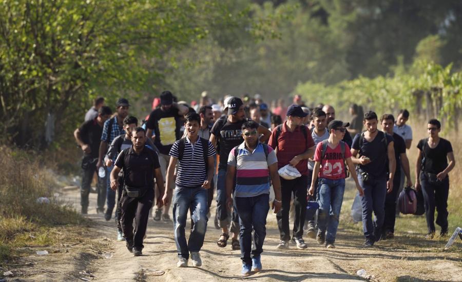 Imigranci na terenie Macedonii