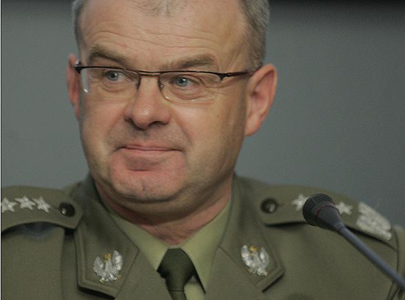 Generał Skrzypczak ujął Polaków