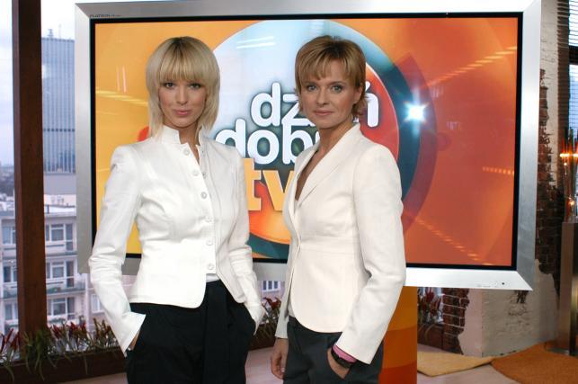 """Jolanta Pieńkowska i Magda Mołek w """"Dzień Dobry TVN"""""""