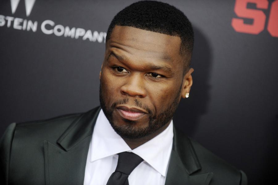 50 Cent na premierze \