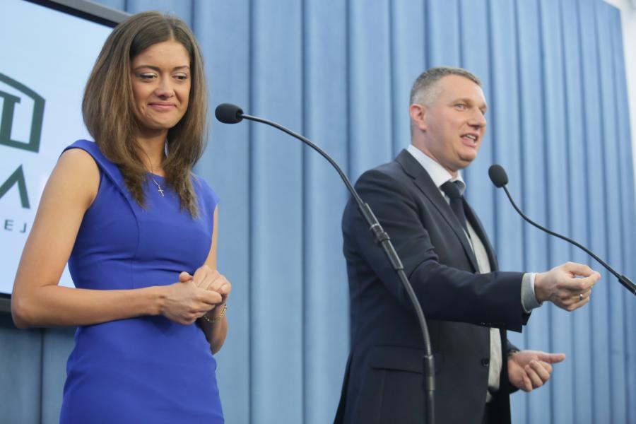 Miriam Shaded i Przemysław Wipler