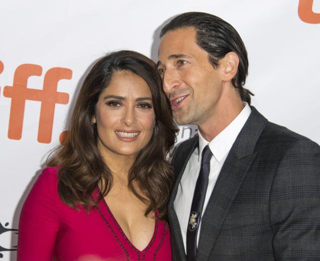 """Salma Hayek i Adrien Brody na premierze """"Septembers of Shiraz"""" w Toronto"""