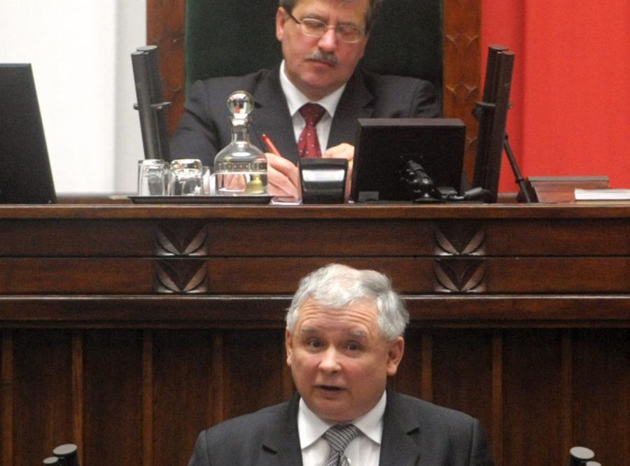 Kaczyński: Czas odwołać Komorowskiego
