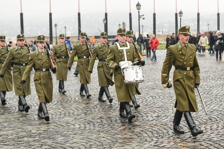 Węgierscy żołnierze