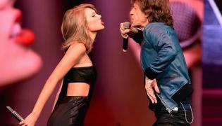 Mick Jagger i Taylor Swift razem na scenie