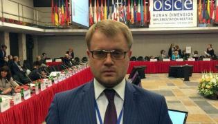 Wicepremier prorosyjskiego rządu Krymu Dmitrij Połonski jest w Warszawie