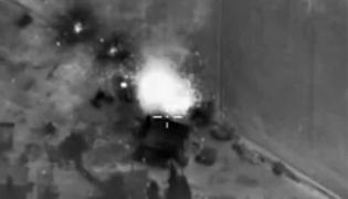 Rosyjskie lotnictwo bombarduje cele w Syrii