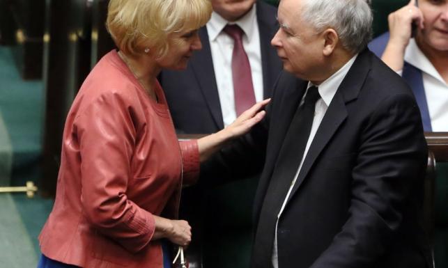 Posłanka Szczypińska w bazarowym stylu na ostatnim posiedzeniu Sejmu
