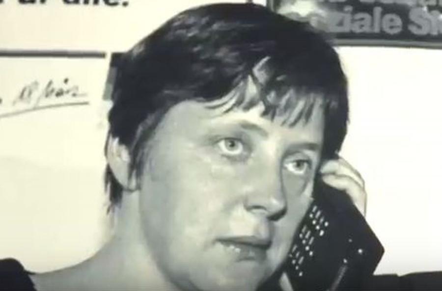 Angela Merkel - kadr z filmu \