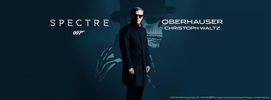 Christoph Waltz jako Oberhauser