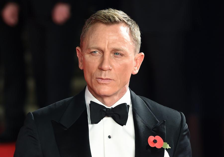 """Daniel Craig na premierze """"Spectre"""" w Londynie"""